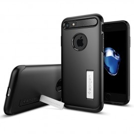 Spigen Slim Armor iPhone 7 / 8 / SE 2020 zwart