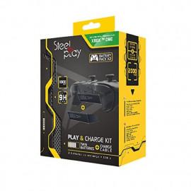 Steelplay Xbox One Play & Charge kit
