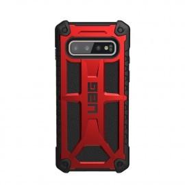 UAG Hard Case Galaxy S10 Monarch Crimson rood