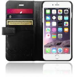 XtremeMac X-Wallet Leather Case iPhone 6(S) Zwart