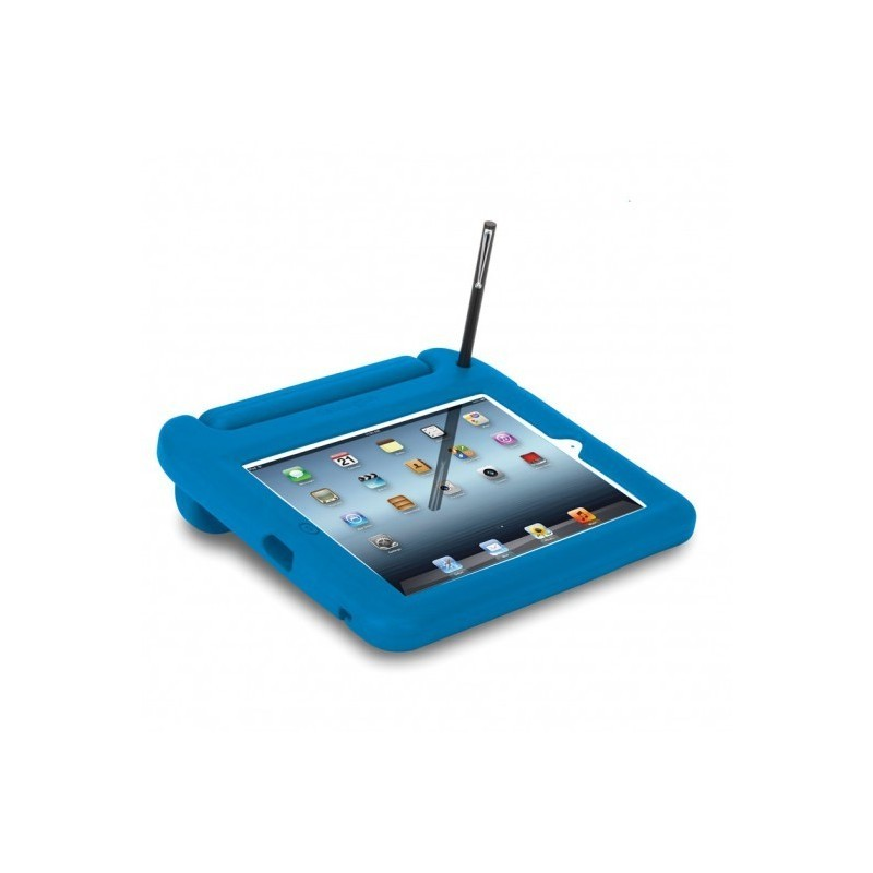 Kensington SafeGrip rugged case iPad blauw