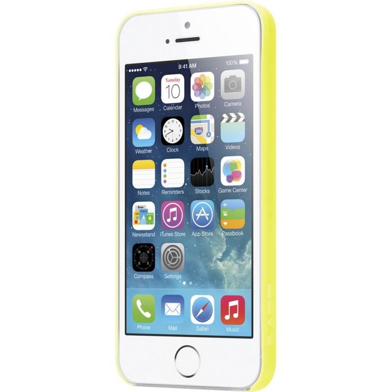 LAUT SlimSkin iPhone 5(S)/SE geel