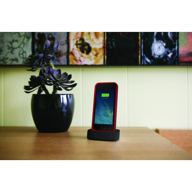 Mophie juice pack dock iPhone 5(S)/SE zwart