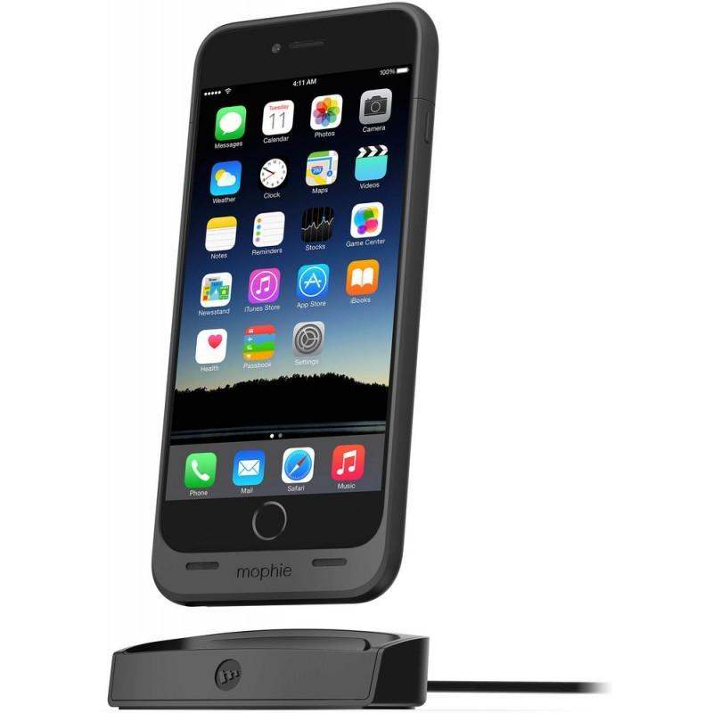 Mophie juice pack dock iPhone 6(S) Plus zwart