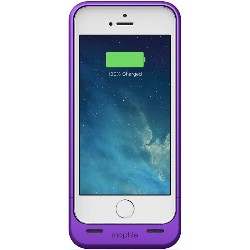 Mophie juice pack helium iPhone 5(S) 1500 mAh paars