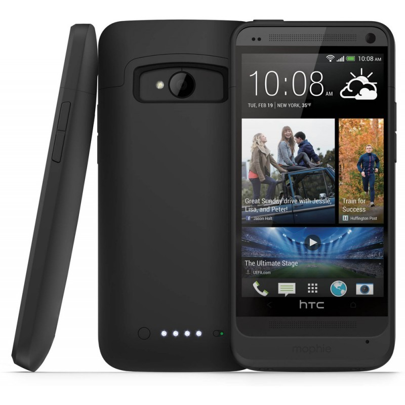 Mophie juice pack HTC One zwart