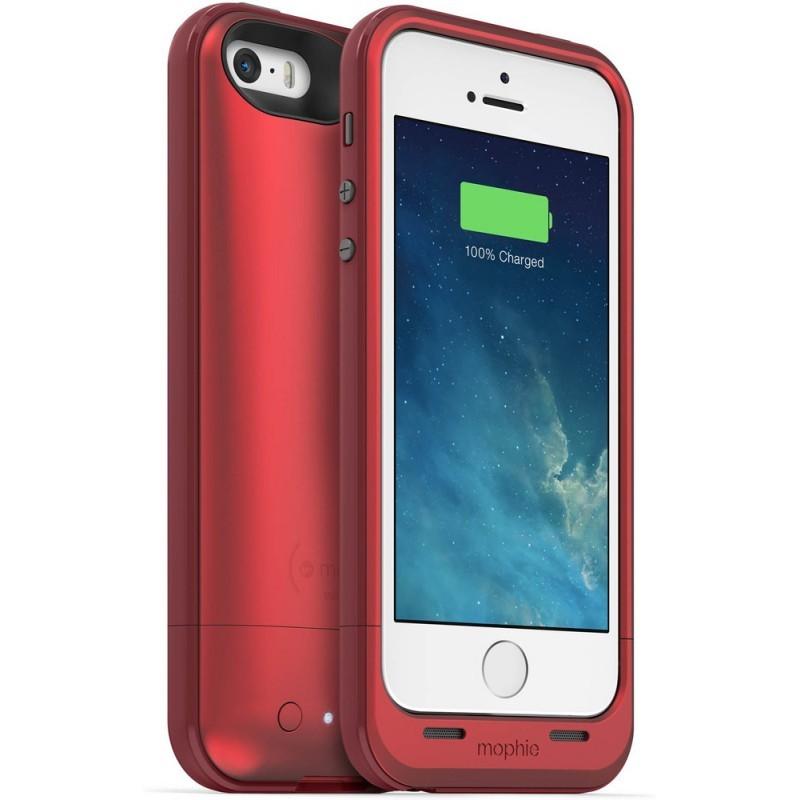 Mophie juice pack plus iPhone 5(S)/SE 2100 mAh rood
