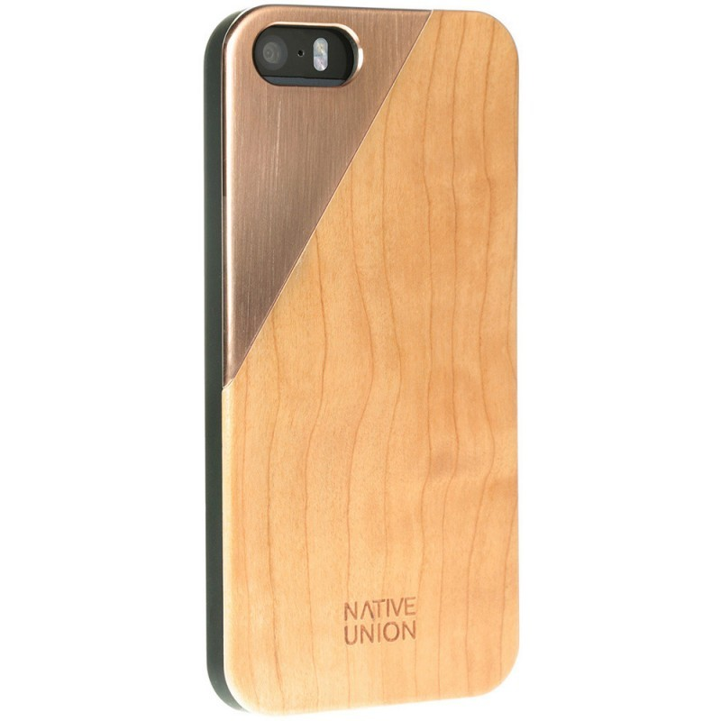 Native Union Clic Metal iPhone 5 / 5S Cherry Rose
