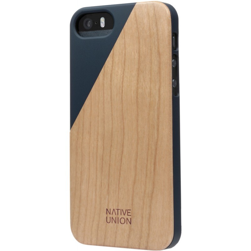 Native Union Clic Wooden iPhone 5 / 5S Marine