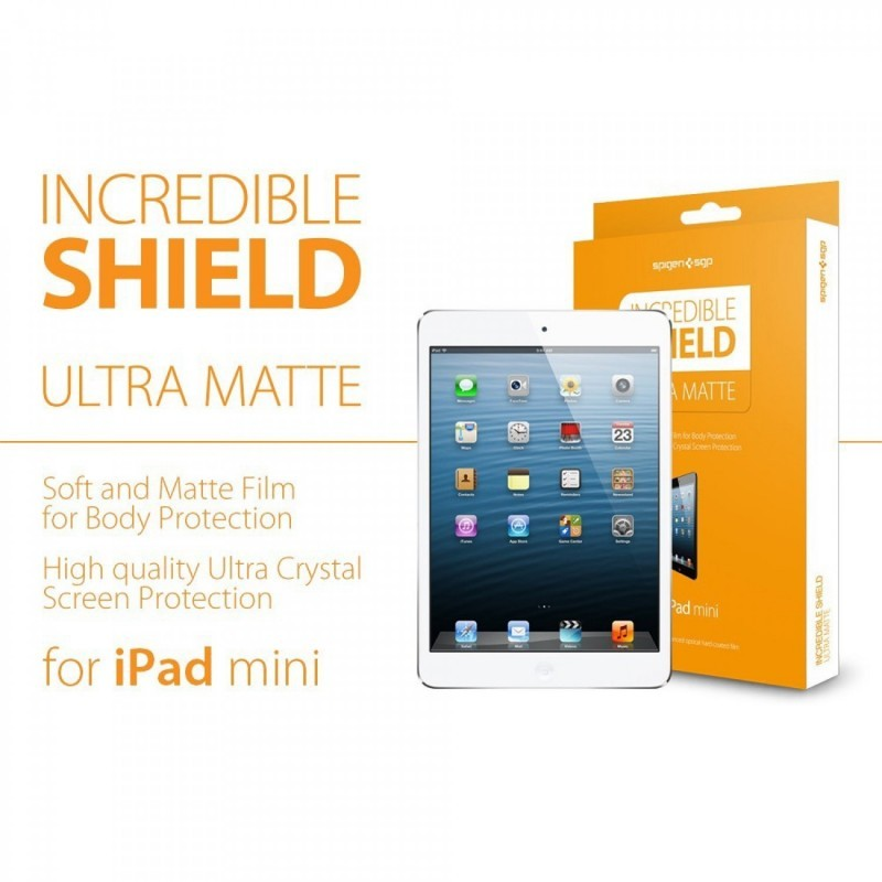 Spigen Incredible Shield MATTE iPad mini 1/2/3 Full Body Protector