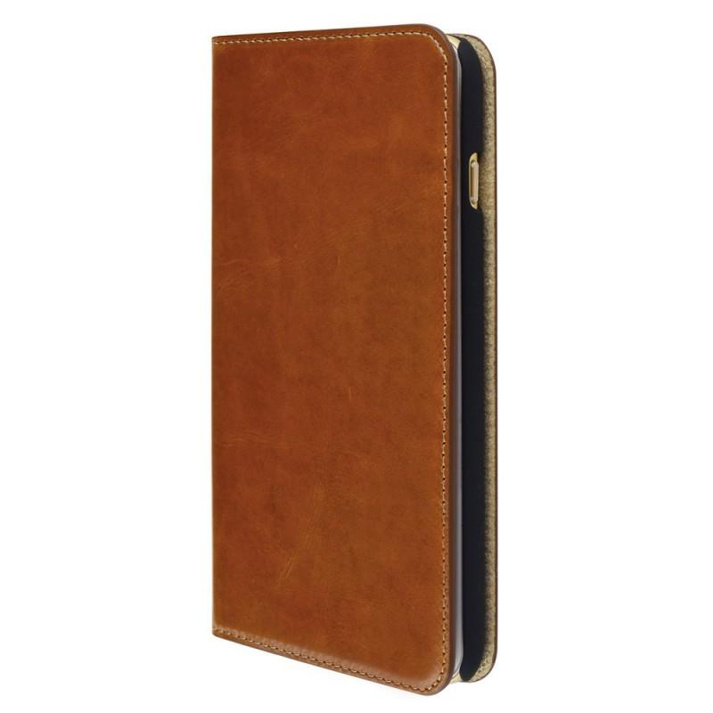 Mobiparts Excellent Wallet Case iPhone 6 Plus / 6S Plus Oaked Cognac
