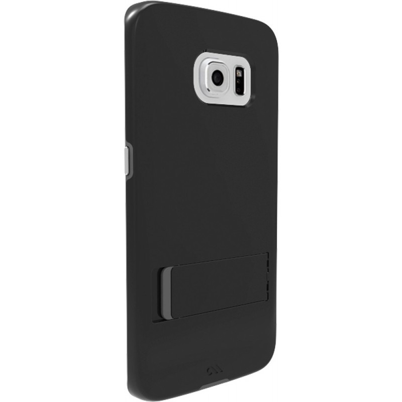 Case-Mate Tough Stand Case Galaxy S6 Edge Black / Silver