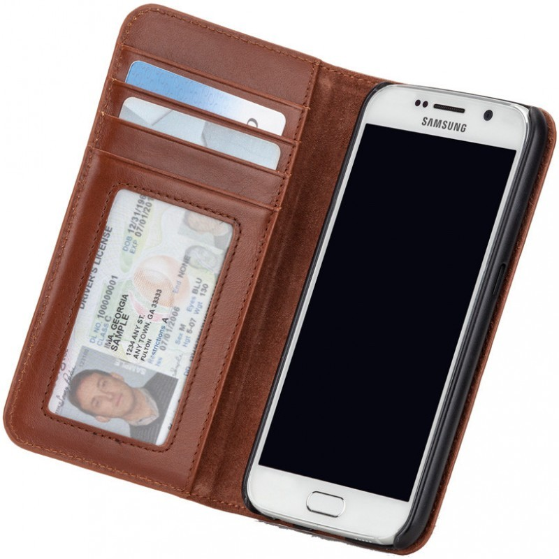 Case-Mate Wallet Folio Galaxy S6 Brown