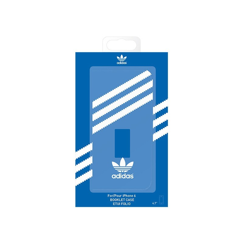 Adidas Basics Booklet iPhone 6 / 6S Bluebird / White