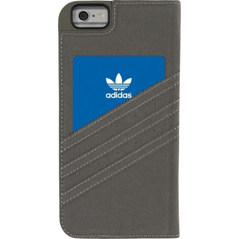 Adidas Vintage Booklet iPhone 6 Plus / 6S Plus Grey