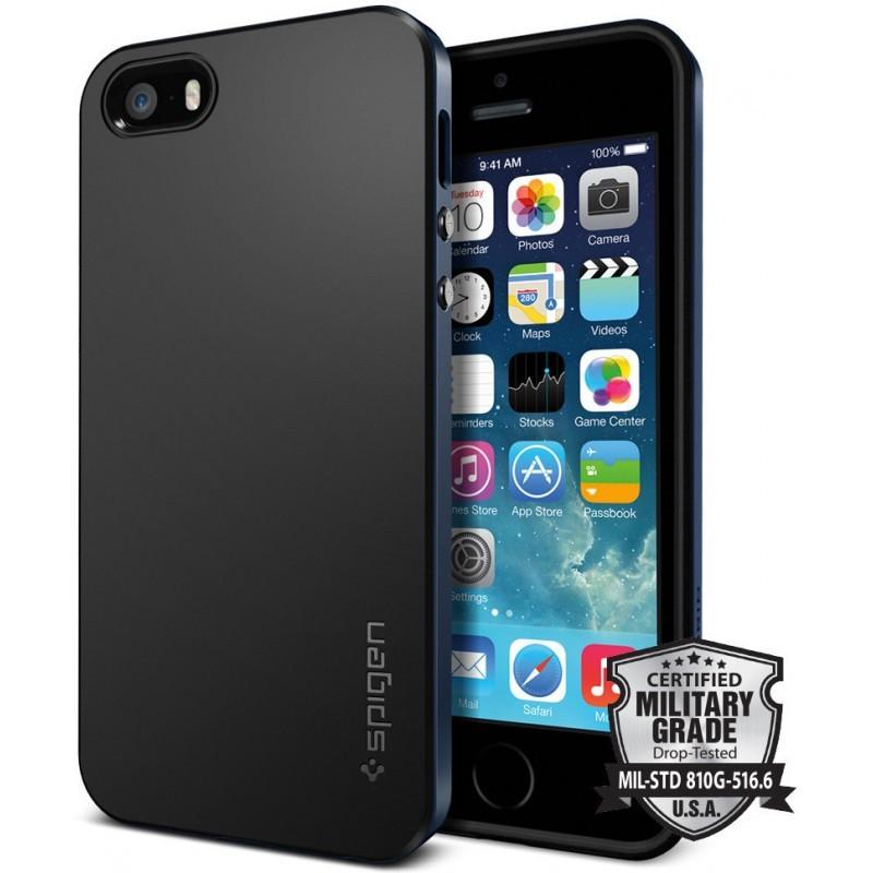 Spigen Neo Hybrid iPhone 5 / 5S Metal Slate