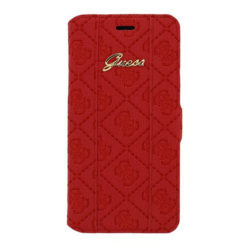 Guess Scarlett Galaxy S6 Book Case Red