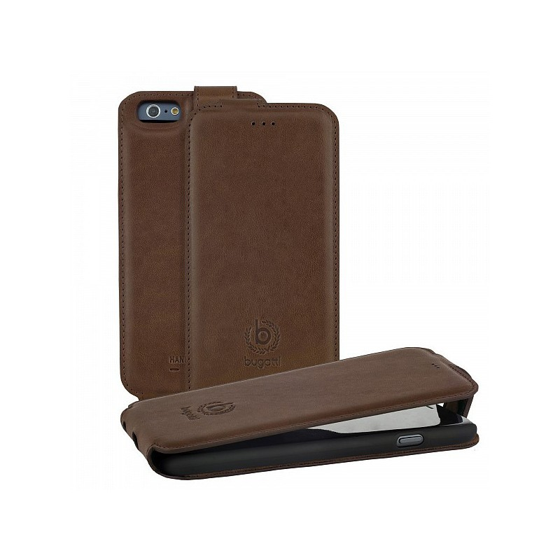 Bugatti Milano FlipCase iPhone 6 / 6S Brown
