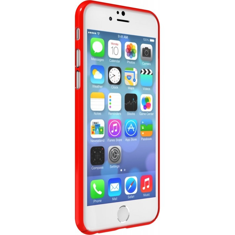 SwitchEasy Nude iPhone 6(S) rood