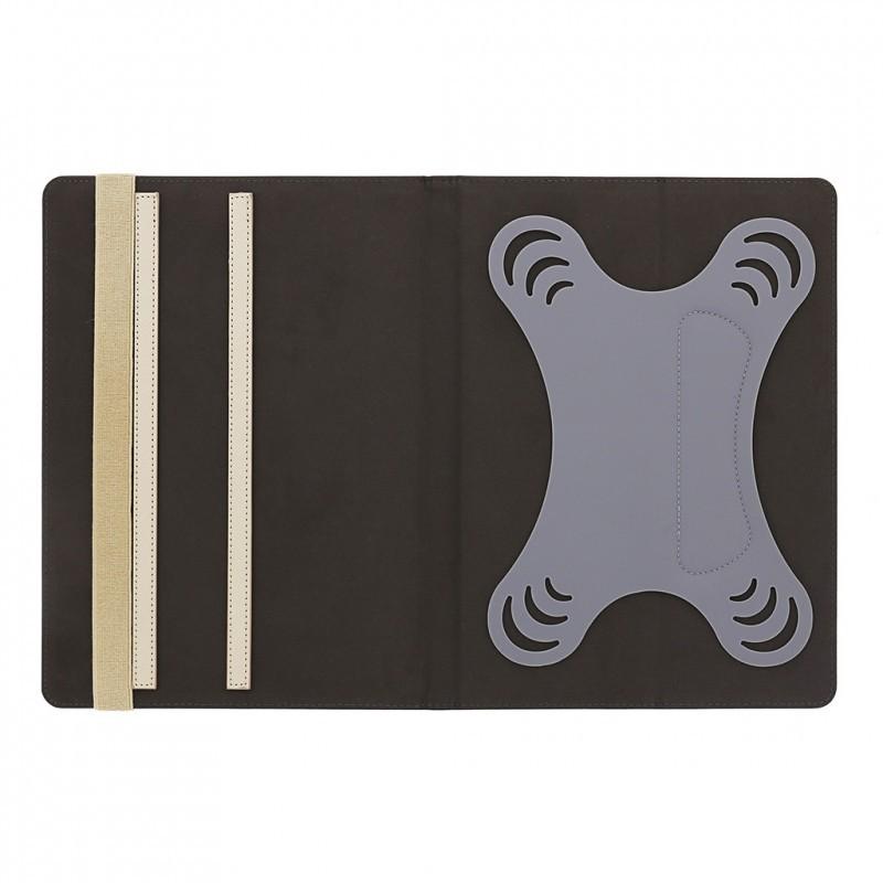 Studded iPad mini 1 / 2 / 3 Folio Case Cream
