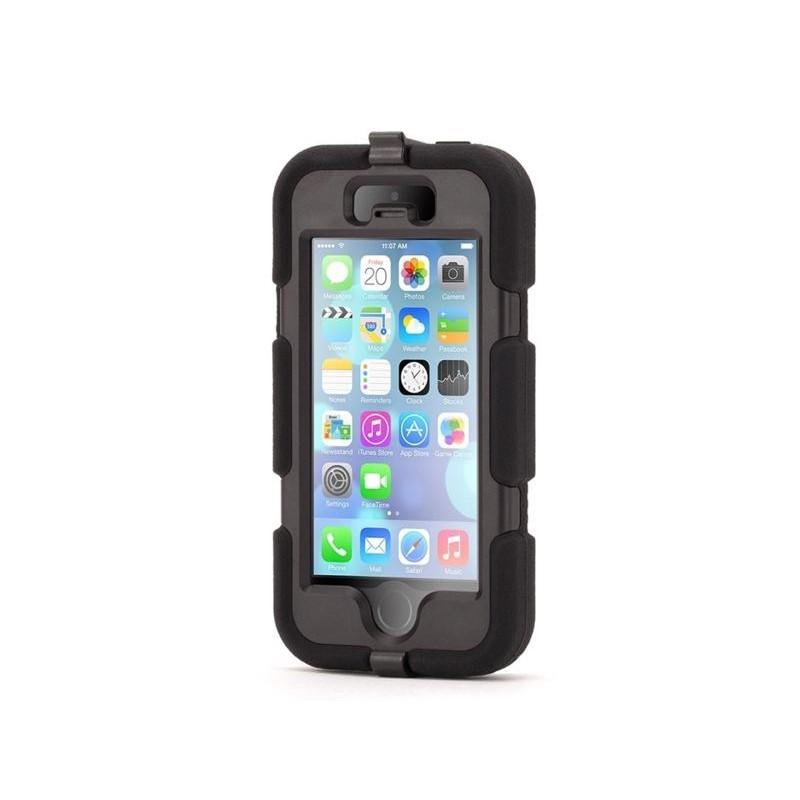 Griffin Survivor hardcase iPhone 5(S)/SE zwart (GB35677-2)