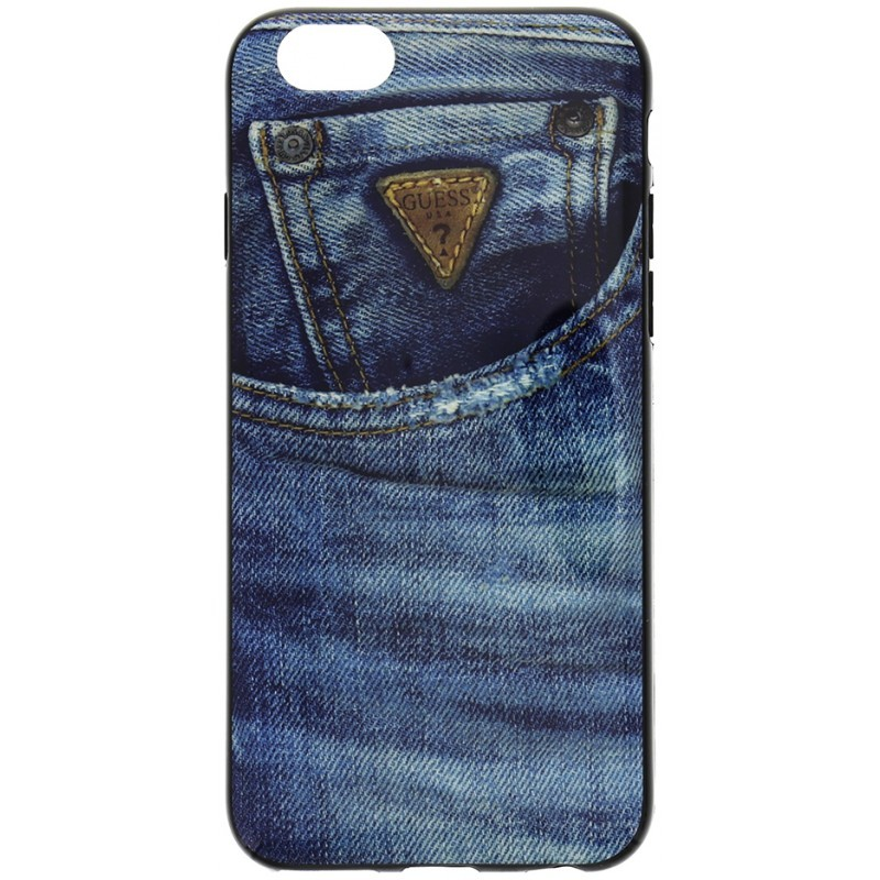 Denim iPhone 6 / 6S TPU Case Jeans Blue