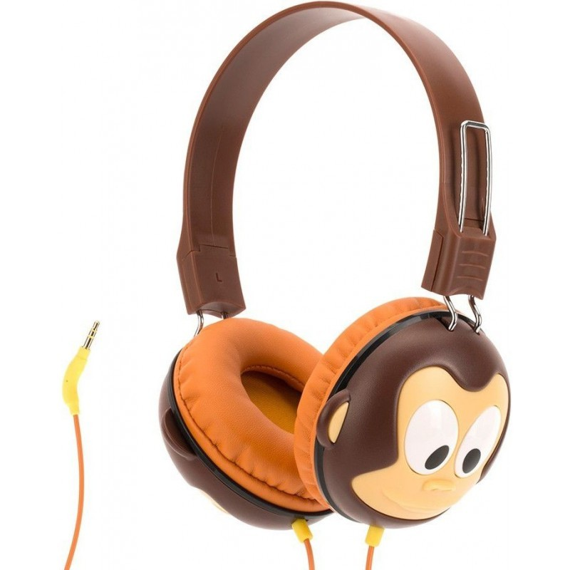 Griffin Kazoo Kids Headphones Monkey