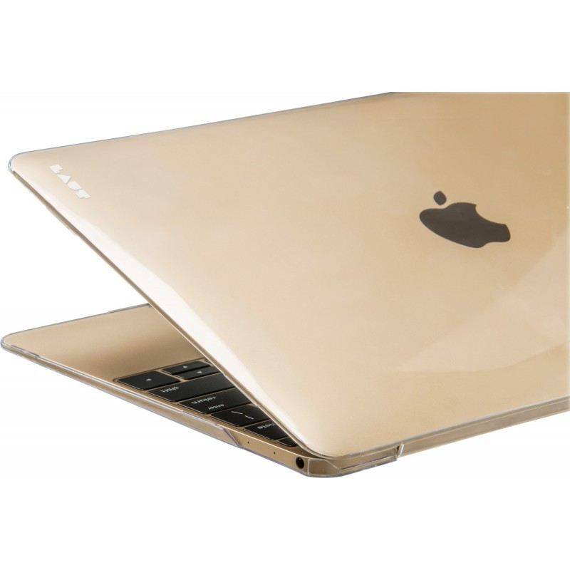 LAUT Slim Crystal-X Macbook 12 inch goud