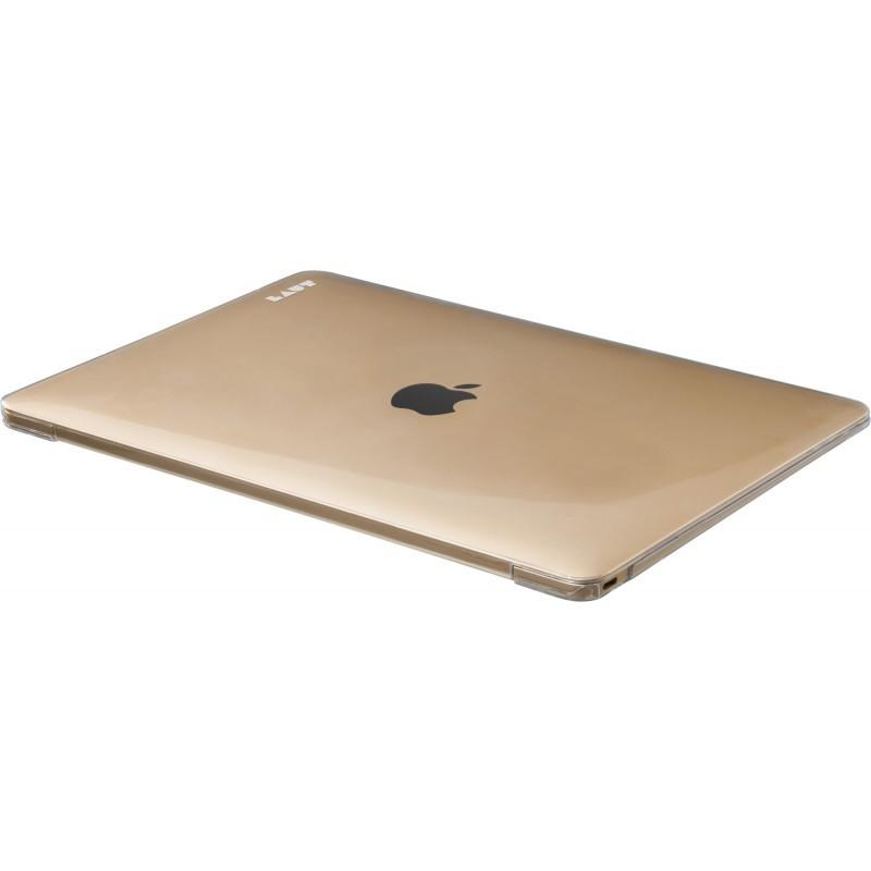 LAUT Slim Crystal-X Macbook 12 inch goud