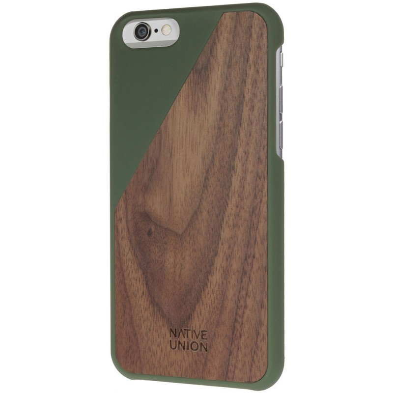 Native Union Clic Wooden iPhone 6 / 6S Olive