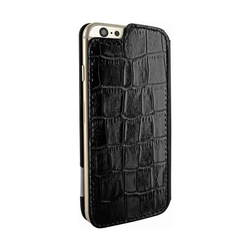 Piel Frama FramaSlim iPhone 6(S) Crocodile zwart