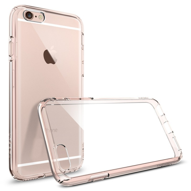 Spigen Ultra Hybrid iPhone 6(S) Rose Crystal