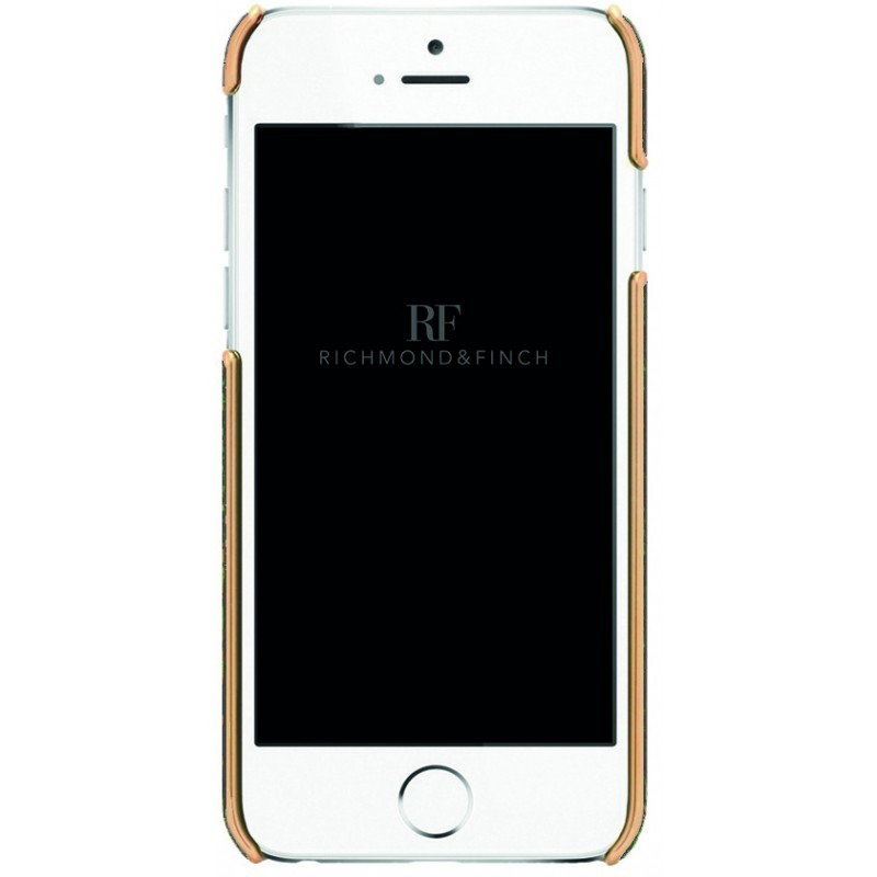 Richmond and Finch Framed Rose iPhone 6(S) Reptile Brown