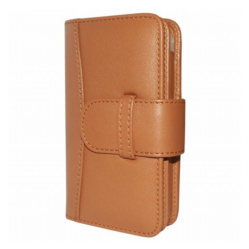 Piel Frama Wallet iPhone 5(S)/SE bruin