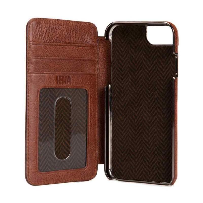 Heritage Wallet Book iPhone 6 Plus / 6S Plus Cognac