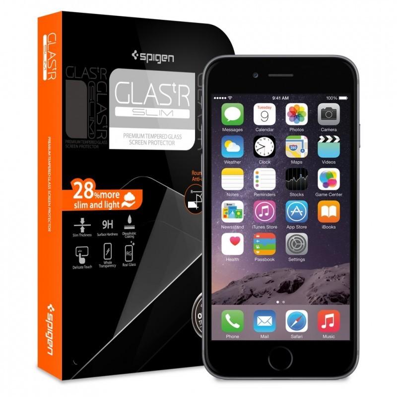 Spigen GLAS.tR SLIM iPhone 6(S) Glass Screen Protector