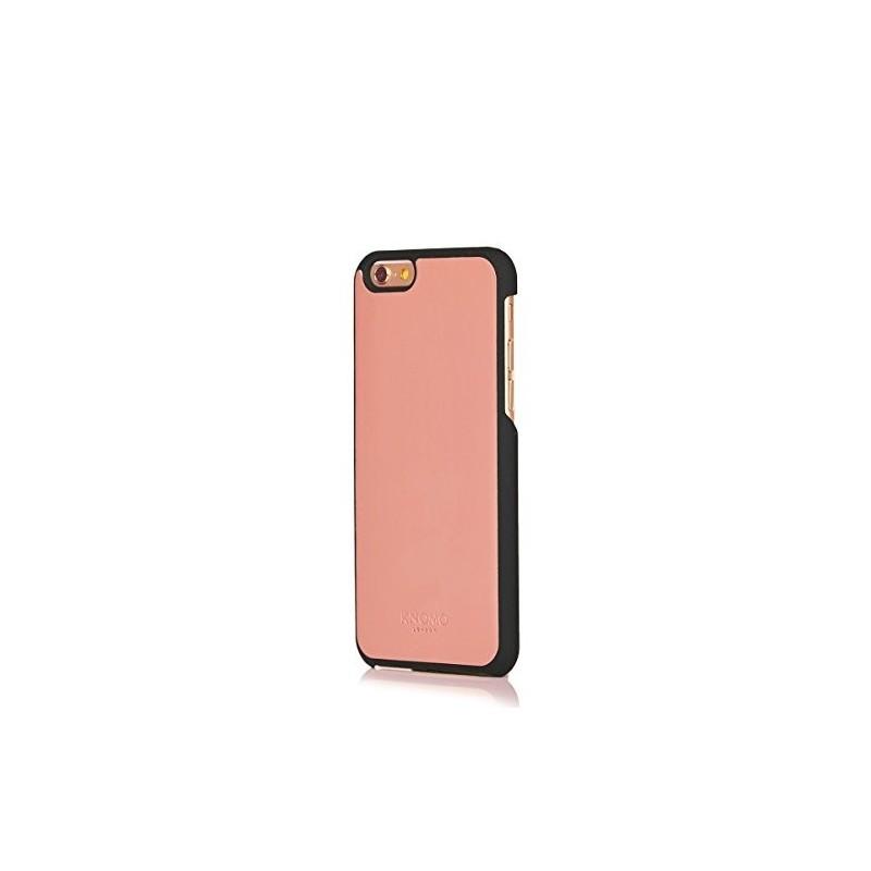 Knomo leren Snap case iPhone 6(S) zwart