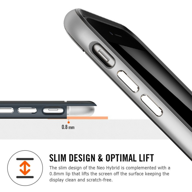 Spigen Neo Hybrid iPhone 6(S) Plus Satin Silver