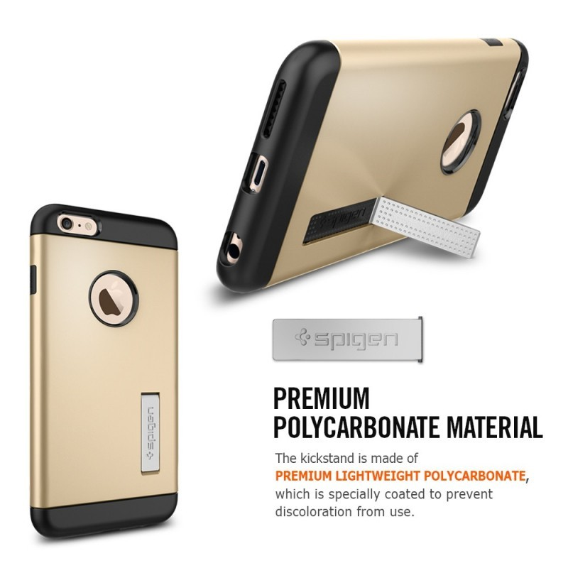Spigen Slim Armor iPhone 6(S) Plus Metal Slate