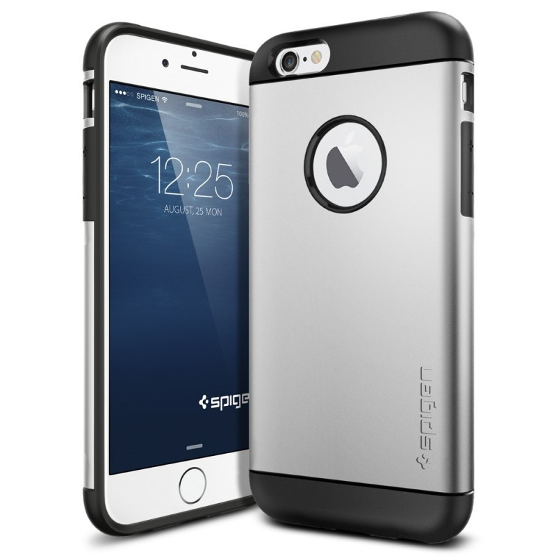 Spigen Slim Armor iPhone 6(S) Satin Silver
