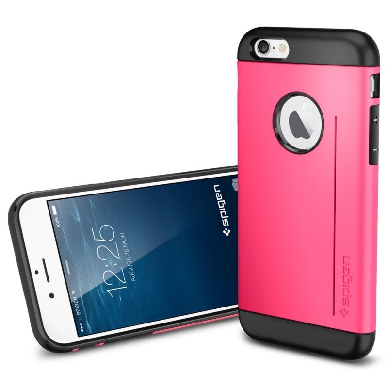 Spigen Slim Armor S iPhone 6(S) roze