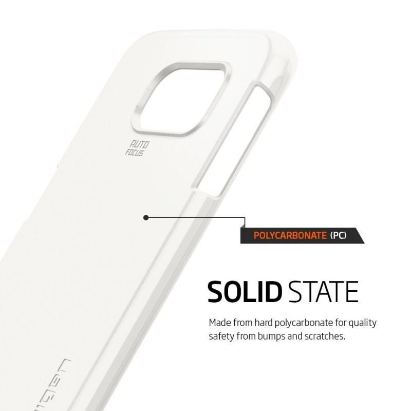 Spigen Thin Fit Galaxy S6 Shimmery White