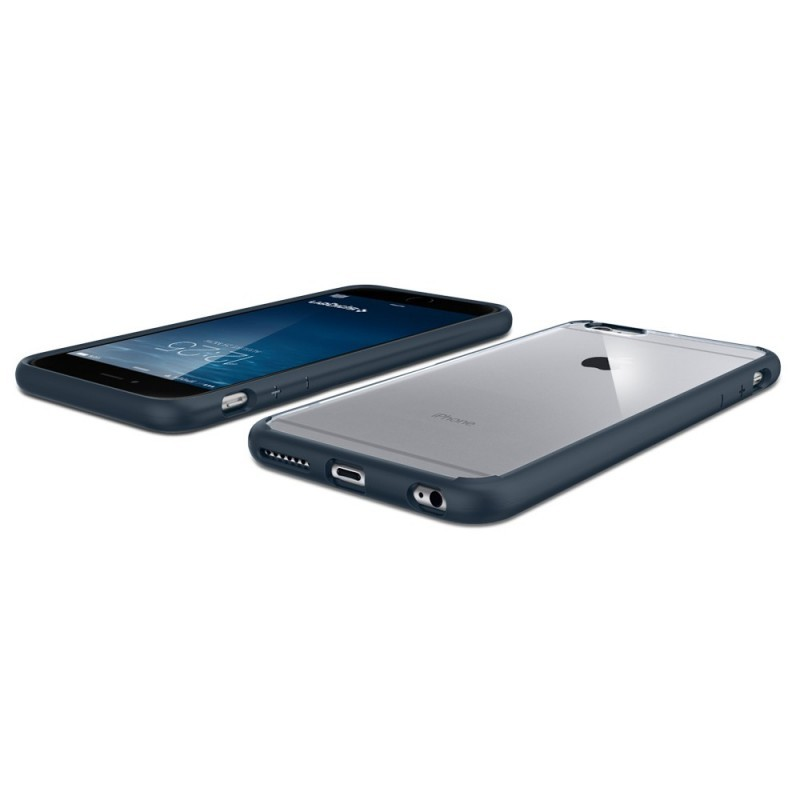 Spigen Ultra Hybrid iPhone 6(S) Plus Metal Slate