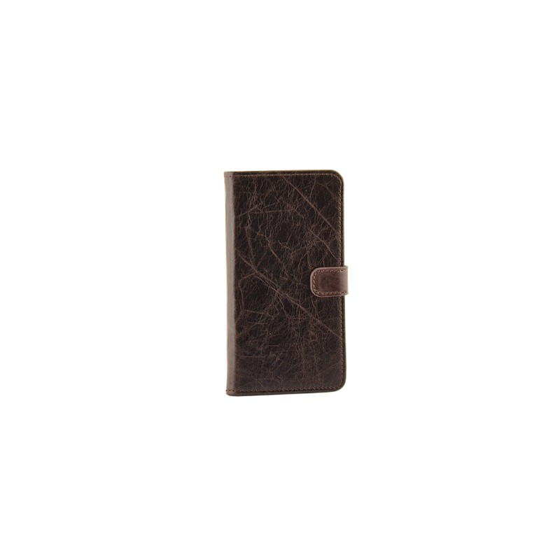 Milano CC iPhone 6 / 6S Book Case Brown