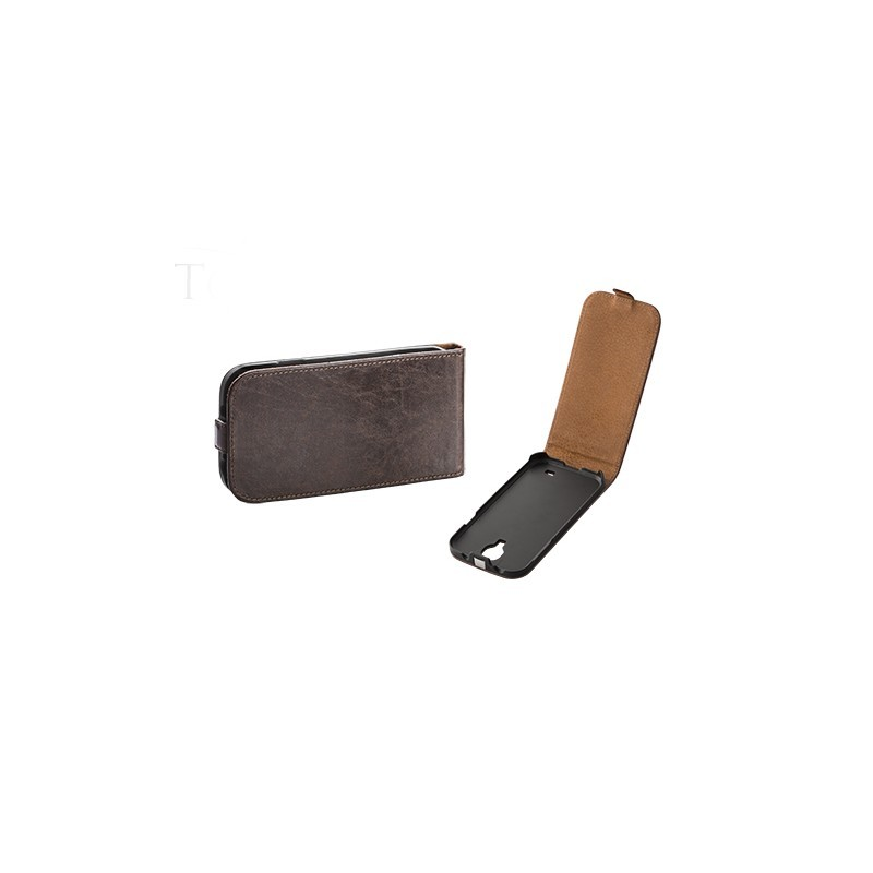 Toscana Galaxy S6 Flip Case Brown