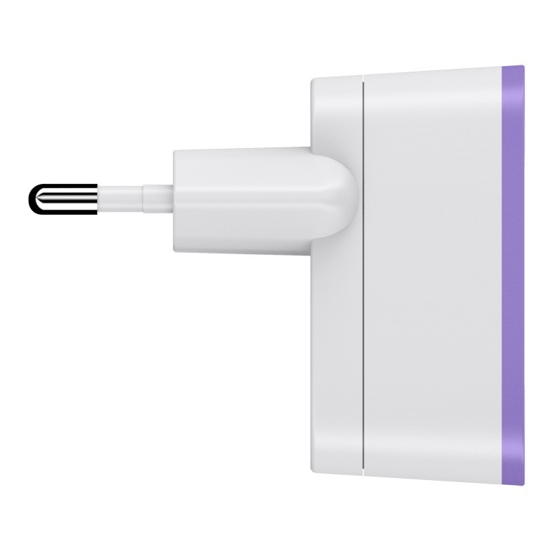 Wall Charger 2.1A Purple