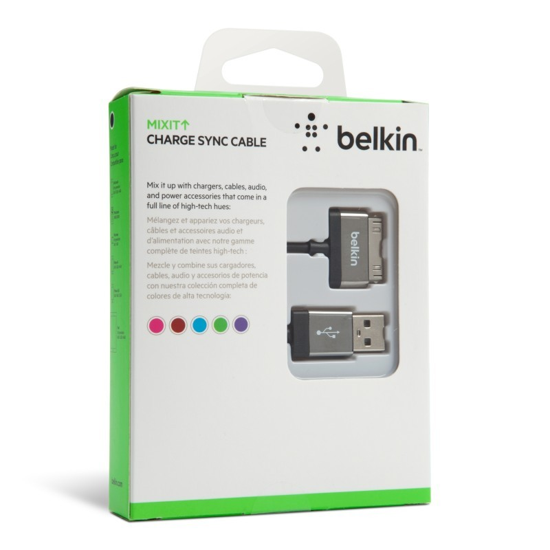 Belkin Charge Sync Cable 30-Pin 2 Meter