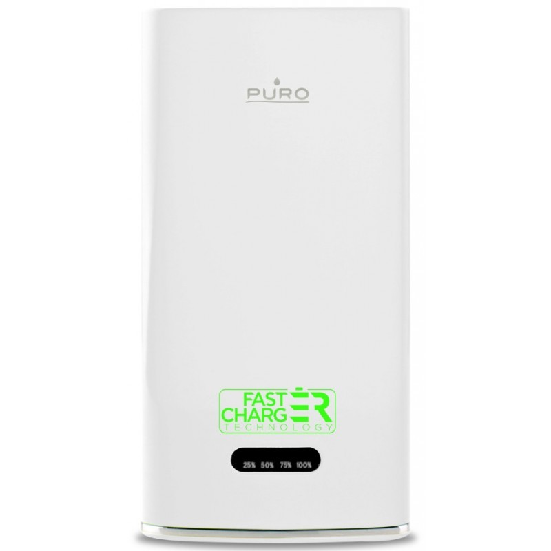Puro Powerbank Fast Charger 6000 mAh 2.1A White