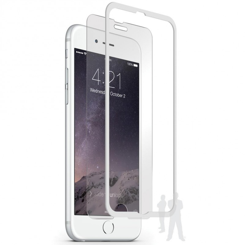 Pure Glass Crown iPhone 6 Plus / 6S Plus Screen Protector White