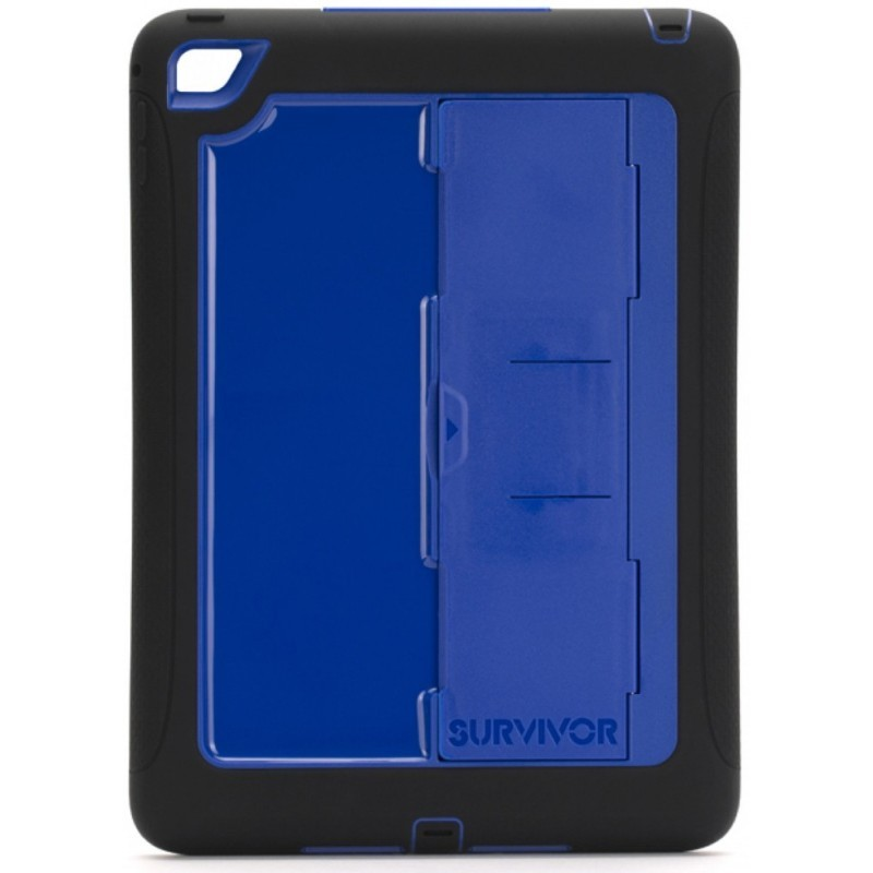 Griffin Survivor Slim case iPad Air 2 blauw/zwart